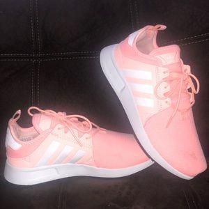 Addias X_PLR Shoes peach color